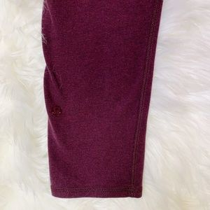 lululemon athletica Pants - Lululemon Wunder Under Crop Cotton Roll Down